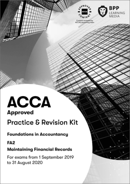 FIA Maintaining Financial Records FA2
